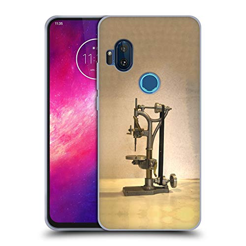 Head Case Designs Officially Licensed Celebrate Life Gallery Drill Press Tools Soft Gel Case Compatible with Motorola One Hyper