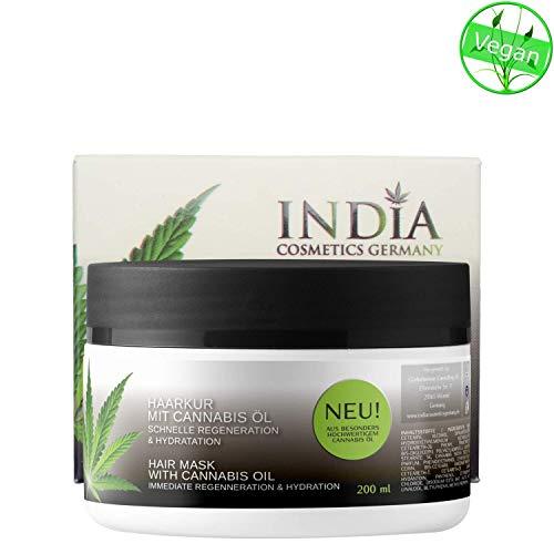 Cuidado del cabello Kur con Cannabis aceite