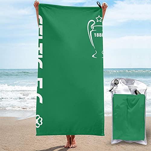 Celtic Fc Fans Beach Towel Quick Dry Super Soft Absorbent Bath Towels for Adults Men Women 27.5'X55'