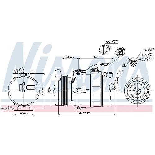 Nissens 89054 Clima compressori