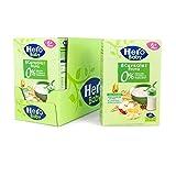 Hero Baby Papilla de 8 Cereales con Fruta - Para Bebés a Partir de los 6 Meses - Pack de 6 x 340 g