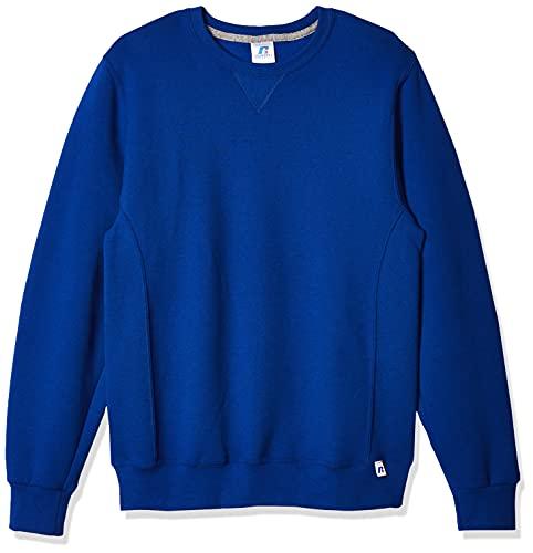 Russell Athletic Men's Dri-Power Fleece Sweatshirt, Royal Blue, Medium