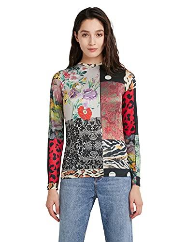 Desigual TS_kentin Camiseta, Multicolor, S para Mujer