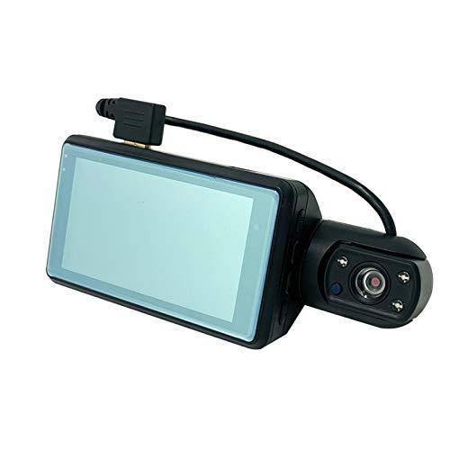 KOLOSM Cámara De Coche Lente Dual de 3 Pulgadas HD Que Conduce DVR/Dash Cameras Car Dash Dash CAM Dash Tabler Camera DRUCCIÓN DVR Cars Grabador (Color Name : JL19 Rear Lens BL, SD Card Memory : None)