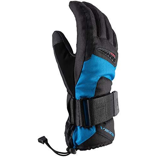 VIKING Gants de snowboard - Hard-Palm Shell - Système de ventilation - Protection intérieure en plastique - Trex, bleu, 9