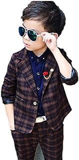 子供スーツ キッズ服 男の子衣装 ズボン、コート 3色 卒業式/入園式/発表会/七五三/結婚式フォーマル 90~130cm