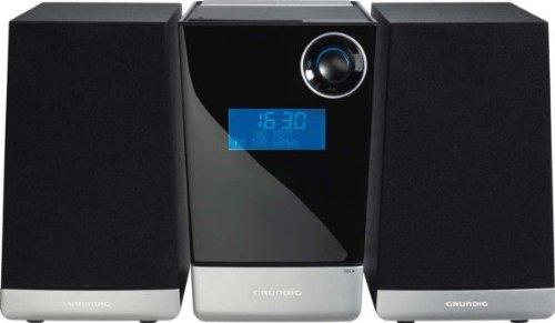 Grundig UMS 4910 Micro-Anlage (CD/MP3-Player, USB 2.0, SD/MMC-Slot) schwarz