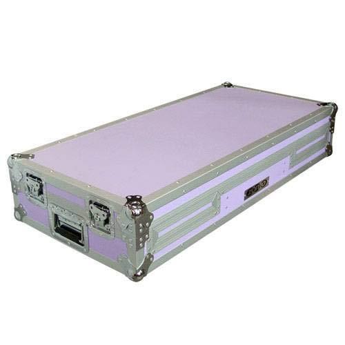 Zomo P-800/12 purple f. 2 x CDJ-800 + 1 x DJM-600