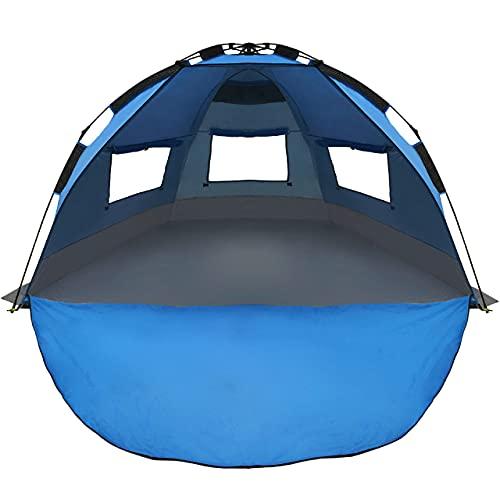 EasyGo Shelter Instant Easy Up Beach Umbrella Tent
