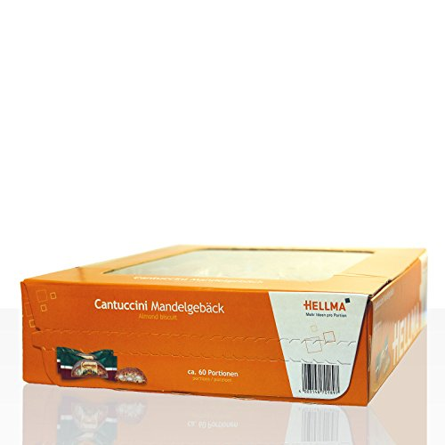1x Hellma CANTUCCINI - Mandelgebäck Süßigkeiten, Nahrungsmittel