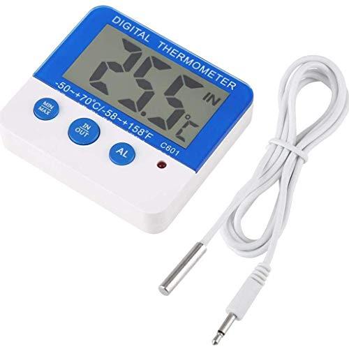 BWCGA Digital Termometro,Termometro Interno Con Umidità Monitor,Grande Schermo Con Temperatura Ed Umidità Meter