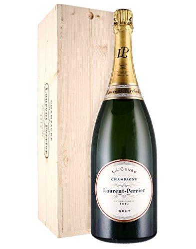Champagne Brut AOC - La Cuvée - Laurent-Perrier - Magnum - Cassetta di legno - 1 x 1,5 l.