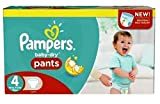 Couches Pampers - Taille 4 baby dry pants - 319 couches bébé