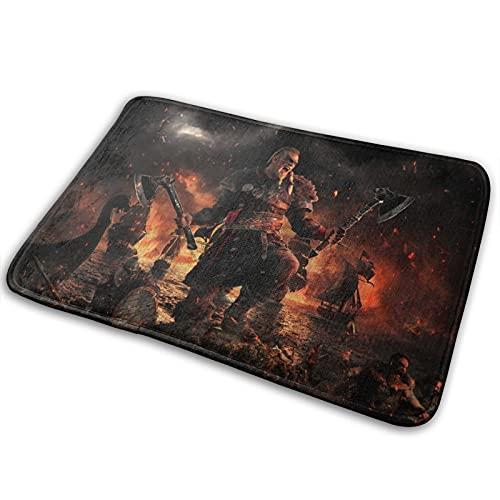 Assassin's Creed Valhalla Teppich Wohnzimmer und Schlafzimmer Sofa Teppich aus hochwertigem Flanell Stoff weich und angenehm zu berühren 15,7 x 23,5