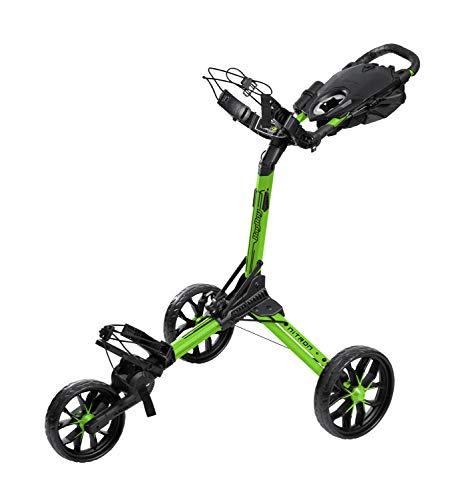 BagBoy Nitron Golf Push Cart, Lime/Black