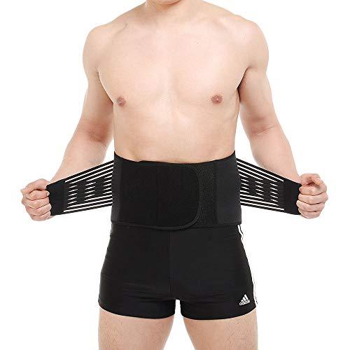 SLCE Cinturón Lumbar Soporte Lumbar para La Espalda Ayuda De La Cintura para Aliviar El Dolor De Espalda Y Prevenir Daños, Tensa El Núcleo Abdominal Y Protege La Zona Lumbar,S