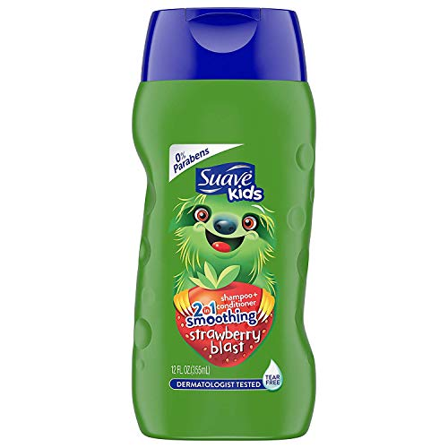 Suave Kids 2-in-1 Shampoo Smoothers Fairy Berry Strawberry 12 oz (Pack of 3)