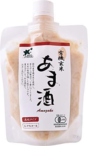 ビオマーケット ビオマルシェ 有機 玄米あま酒 230g 2倍濃縮タイプ