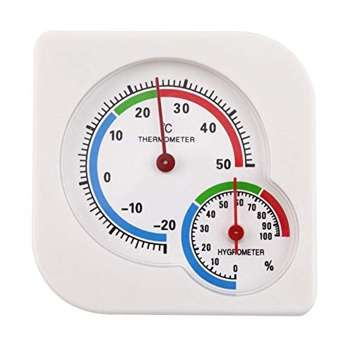 JSFDSUCM Thermometer 2-in-1 Mini Temperature and Humidity Meter Indoor and Outdoor Household Precision Temperature/Hygrometer