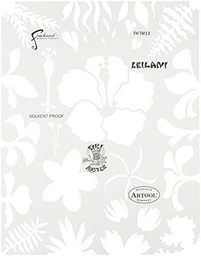 Artool Freehand Airbrush Templates, Tikki Master- Leilani by Iwata-Medea