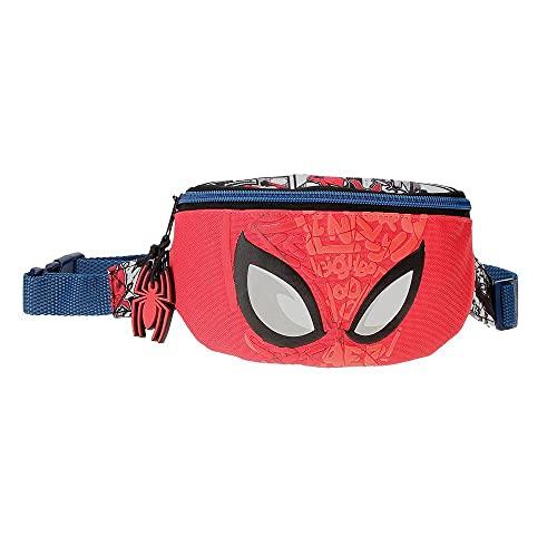 Marvel Spiderman Comic Riñonera Rojo 27x11x6,5 cms Poliéster