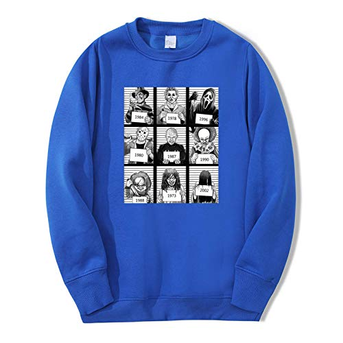 Unisex Horror Film The Texas Chainsaw Mas Sweatshirt Hoodies Yamamura Sadako Mens Fleece Sportswear Fashion Casual Autumn Tracksuit