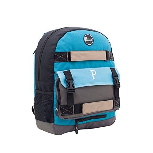 Neu Penny Skateboards BLUE 2015 Backpack 20L blue grey black Rucksack NEU Farbe: blue ?