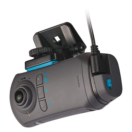 RAZO DC5000A d'Action 360S, 360 Degree Dash Cam: 7.3 Mega Pixel Dash Camera with Built-in WiFi and GPS, Sony Video Sensor, WDR, G-Sensor, Stereo Microphone, Complete Car Camera Video Security System