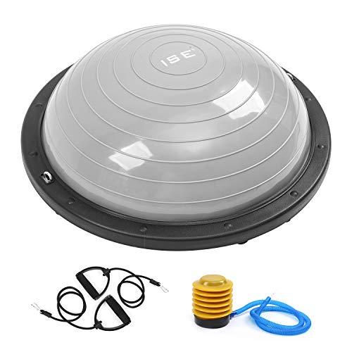 ISE Balance Trainer Ball Bola de Equilibrio para Entrenamiento Ø 58cm, Media...