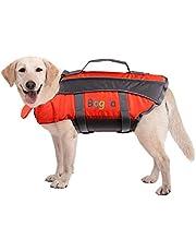 Chaleco salvavidas para perro, chaleco salvavidas de verano, ayuda para perros pequeños, medios, grandes, salvavidas de perro, salvavidas para seguridad en el agua en la piscina, playa, navegando