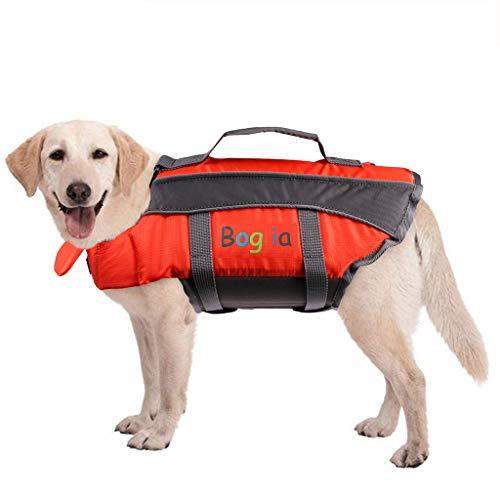 Chaleco Salvavidas para Perros, Abrigo Flotante de Verano para Perros, Ayuda a la flotabilidad, Salvavidas para Perros, Traje de baño para Seguridad en el Agua en la Piscina, Playa