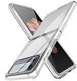 TLING Cover per Samsung Galaxy Z Flip3 5G,[Alta qualità] [Ultra Slim] [Anti-Scratch] Hard PC...