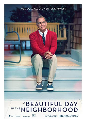 A Beautiful Day In The Neighborhood Movie Poster Glossy High Quality Print Photo Wall Art Tom Hanks, Chris Cooper Mr Rogers Size 27x40#1
