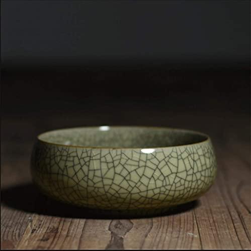 SHU Cenicero chino de ceniza de ceniza de porcelana china se utiliza para la decoración del hogar, la sala de estar, el dormitorio, la oficina, la bandeja de cenizas de escritorio del club de barra (c