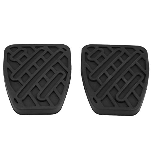 KIMISS 1 par de Cubierta de goma para el freno del coche y la almohadilla del pedal del embrague