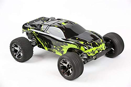 Compatible Custom Body Muddy Green Over Black Replacement for 1/10 Scale RC Car or Truck (Truck not Included) R-G-01