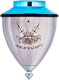 Trompo Peonza Neptuno roller - Tapa azul
