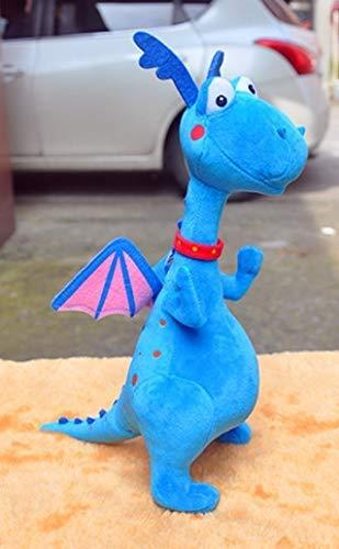 Juguete De Peluche De 39 Cm, Juguetes De Peluche De Clínica, Doctor Blue Dragon, Muñecos De Peluche Suaves, Juguetes, Regalos para Niños
