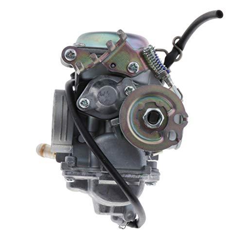 H HILABEE Conjunto de Carburador de Aluminio de 26 Mm de Diámetro de Admisión para Yamaha EXCITER135 Quad ATV