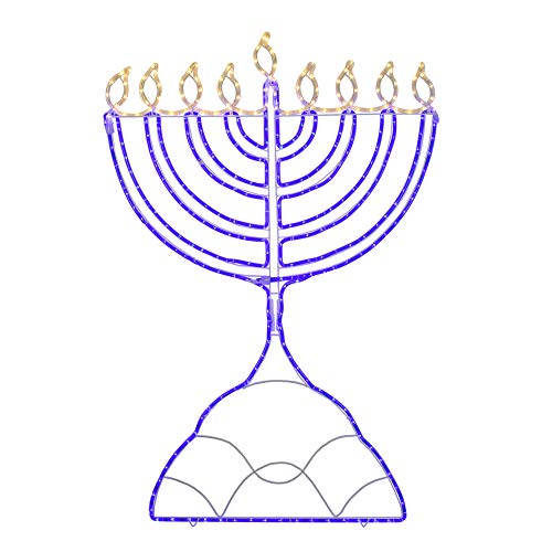 8 crazy nights and one giant light-up menorah