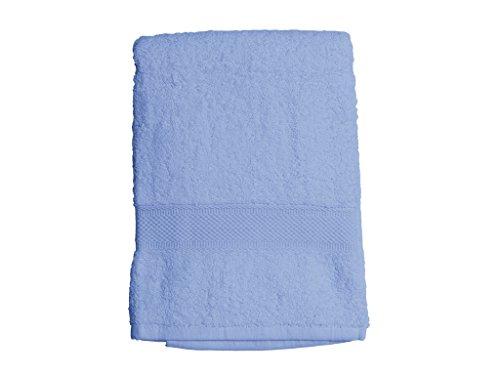 Soleil d'ocre 441105 Douceur Drap de Bain Coton Bleu 70 x 130 cm