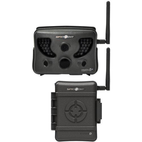 Spypoint Wildkamera Tiny W3 HD mit Blackbox, schwarz 31476 S-Tiny W3 Fotofalle, Fotoschuss