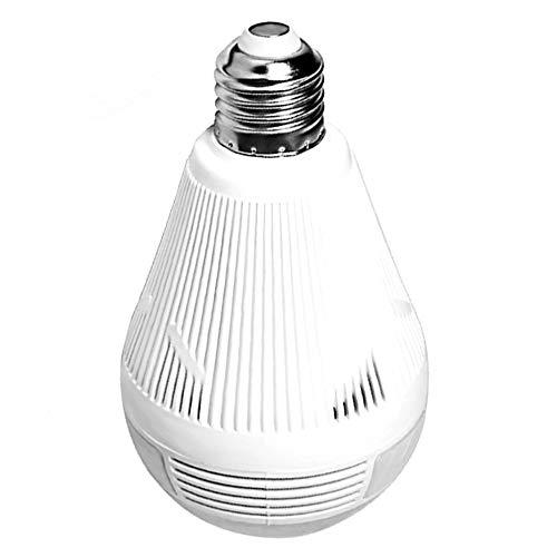 Check Out This Bulb Light Wireless IP Camera Wi-fi Fisheye 960p/3mp 360 Degree Vr CCTV Camera 1/3mp ...