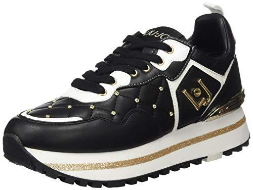 Liu Jo Shoes Maxi Alexa-Running, Sneakers Basses Femme, Noir