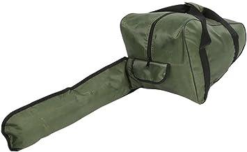 Kettingzaag draagtas Gereedschapstas Heavy-duty waterdichte Oxford stoffen draagtas voor houthakker Groothandel, groen