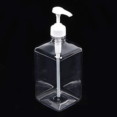 DELMO 1600Ml Presspumpenflaschen Leere Sirup Ketchup Saucen Gewürzbehälter Quetschflasche