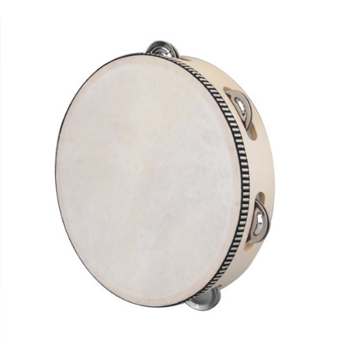 Dcolor Tambourin a 6 Paires Cymbalettes 8\