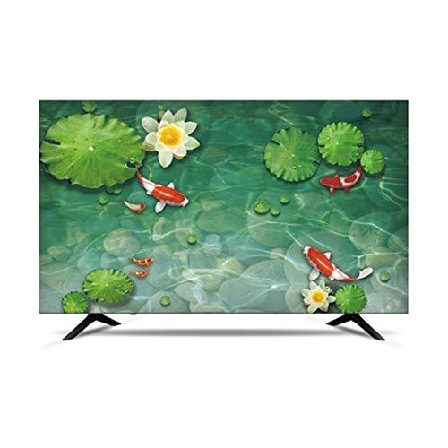 MFMYUANHAN TV CUBIERTE Smart LCD LED TV Cubierta A Prueba De Agua Y Cubierta De Pantalla A Prueba De Sol (Verde 50 Pulgadas)(Size:40in,Color:1#)