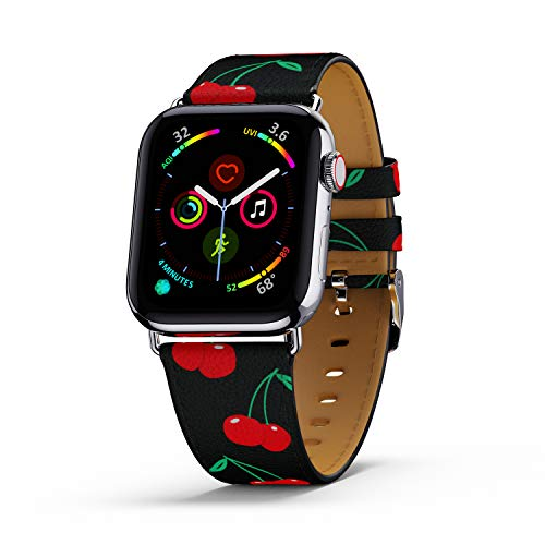 Wildflower Limited Edition Apple Watch Band - 42mm/44mm Case (Black Cherries)