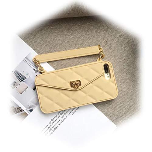 Voor IphoneX/XS/XS Max Case Portemonneehoesje Mooie tas Ontwerp portemonnee Flip Card Hoes Zachte Siliconen Handtas Case met Lange Schouderband